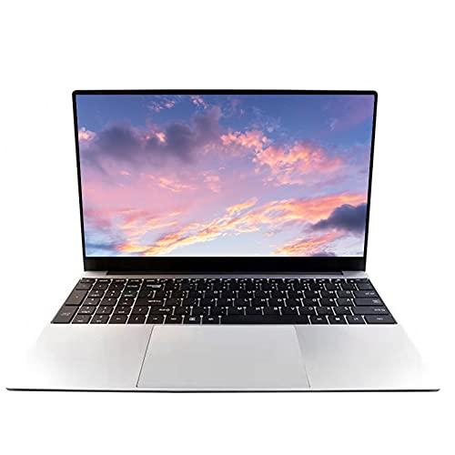 Computer portatile da 15,6 pollici, sistema operativo Windows 10 Pro, 8 GB di RAM, 128 GB SSD, Intel J4125/J4115 Quad CPU, Full HD 1920 x 1080, Newest for Business and Studente, WiFi, Bluetooth, HDMI