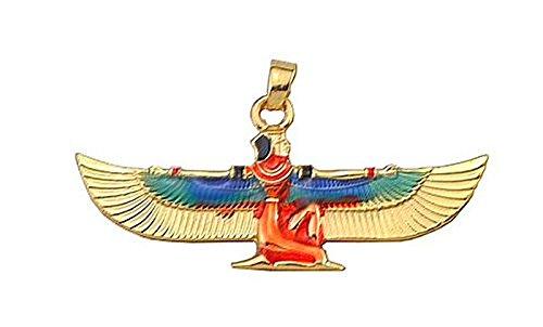 Superbe Pendentif Egyptien Aile d'Isis