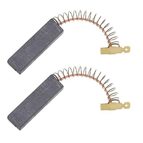 Escobillas de carbón para motor de repuesto para escobillas de carbón laminadas compatibles con motor de lavadora Bosch Siemens 00605694 605694