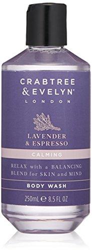 Crabtree & Evelyn Body Wash, Lavender and Espresso, 8.5 Fl Oz