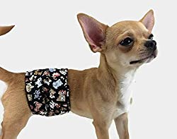 Group One Dog Gallery The Dog Belly Band Tossed Dogs Washable Waterproof