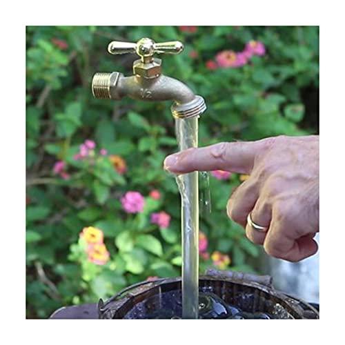 Chahu Invisibles que fluye el canalón puede fuente de la aleación del cinc flotante del grifo fuente para el hogar jardín patio decoración ornamento