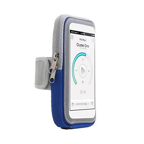 Stastefully Arm-Telefon-Halter für die Ausführung Geeignet für: Iphone6 Puls Samsung Note2 Xiaomi 3 Sony Z3 HTC M8 Huawei M7 Lauf Telefon Armband,Blau