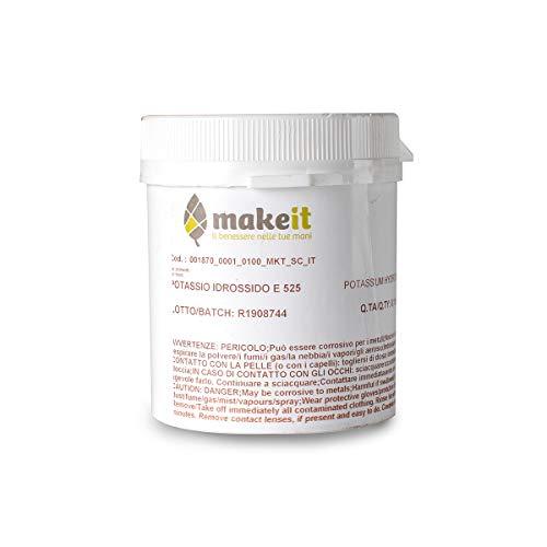 Make it Lab - Potassio Idrossido per Realizzare Saponi - 10 g