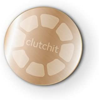 Clutchit 5-Pack Thin Magnetic Metal Replacement Plate 3M Adhesive Device (Gold)