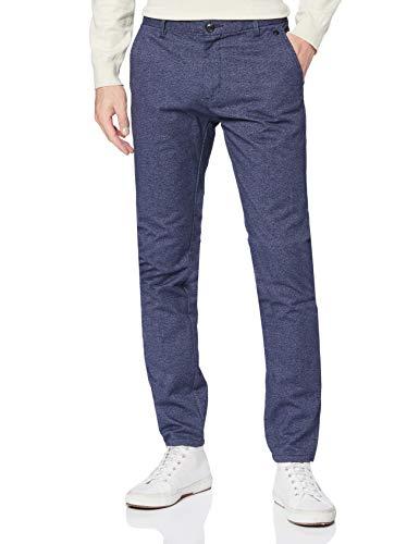 SELECTED HOMME Herren Slhslim-Arval Med.Blue Mix Pants W Hose, Blau (Medium Blue Denim Medium Blue Denim), 30W / 32L