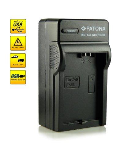 4in1 Caricabatteria LP-E5 per Canon EOS 1000D   EOS 450D   EOS 500D   EOS Rebel T1i   EOS Rebel XS   EOS Rebel Xsi e più…
