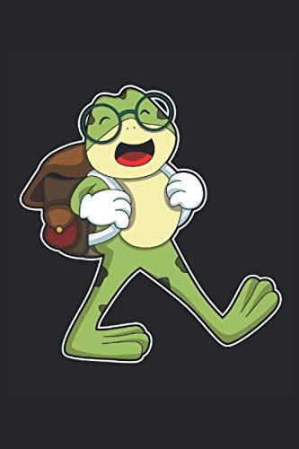 Frosch Notizbuch, 120 Seiten: Brille - Geschenke - Frosch Notizbuch - Tagebuch für Frauen, Männer und Kinder - 6x9 Zoll (Ähnlich DIN A5) - Kariert