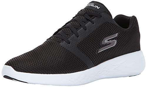 Skechers Performance Men's Go Run 600 Running Shoe,Black/White,12 M US