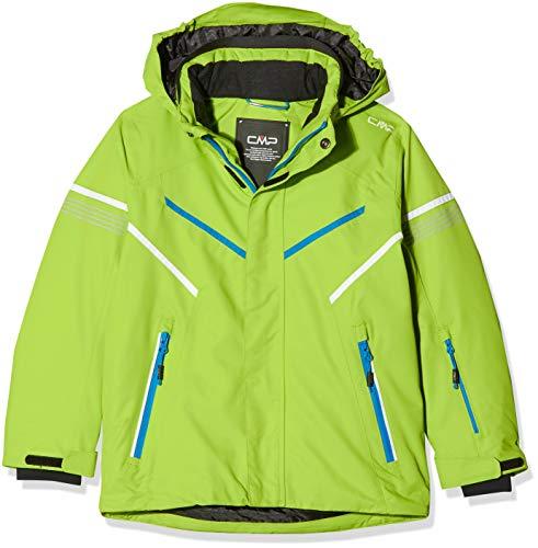 CMP Jungen Skijacke 39W1854 Jacke, Limegreen, 176 (3XL)
