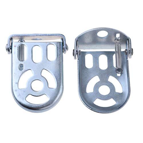 Injoyo Paar Bicyle Hinterfüße Pedale Stahl Verdicken Fußpedal Für Faltrennrad