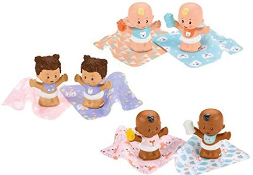 Fisher-Price Little People Snuggle Twins Figure 2-Pack Assortment