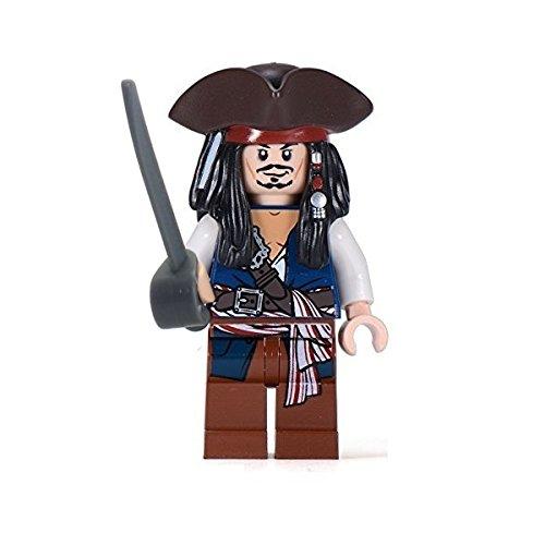 LEGO® Pirates of the Caribbean Jack Sparrow TM minifigure with tricorn rare version