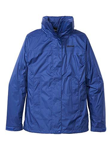 Marmot Damen Wm's PreCip Eco Jacket wasserdichte Regenjacke, Winddichter Regenmantel, Atmungsaktiv, Faltbarer Hardshell Windbreaker, Ideal Zum Fahrradfahren & Wandern, Royal Night, XL
