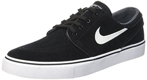 Nike Nike Zoom Stefan Janoski Herren Skateboardschuhe, Nero (Black/White), 38 EU