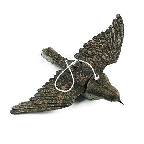 IVEN Fliegend Vogelschreck,6,8' x9,8 Dekofigur als Vogelscheuche,Vogelattrappe,Ideal für Garten Balkon verjagung von...