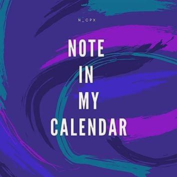 Note in My Calendar