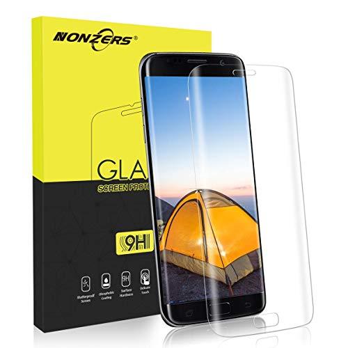 NONZERS Protector Pantalla para Samsung Galaxy S7 Edge, Cristal Templado Samsung...