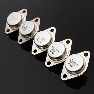 5 Stück 2N3055 NPN Hochleistungsverstärker und Schalttransistor to-3 Metal Case