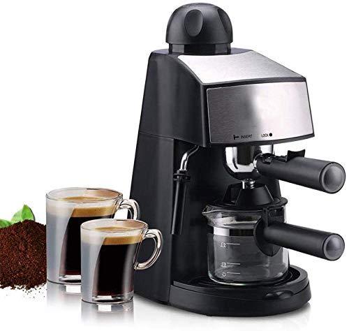 Busirsiz Cafeteras exprés semiautomática Máquina de café Grano a la Taza de café de un Toque