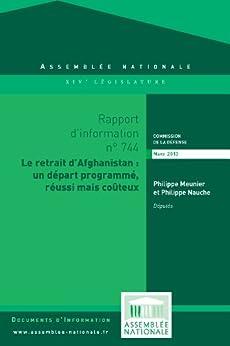 Rapport d'information sur le retrait d'Afghanistan par [Assemblée nationale, Commission de la défense nationale et des forces armées]