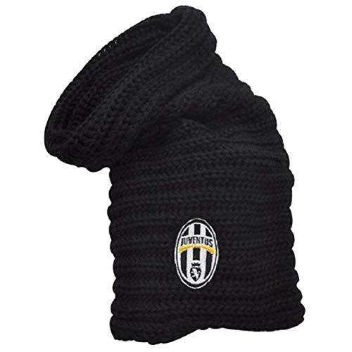 Perseo Scaldacollo Juventus Nero con Logo Storico Prodotto Ufficiale