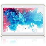 Tablet 10 Zoll Android Tablet PC, Qimaoo Android 8.1 mit 2 GB RAM 32 GB ROM Quad Core IPS HD (1280 x 800), Dual Kamera/ SIM 3G Tablets WiFi/GPS/Bluetooth/OTG