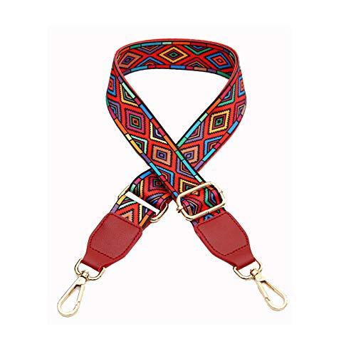 Umily cinghia da spalla tracolla crossbody ricambio Tracolla di ricambio per borsa 3.8cm ampia borsa tracolla 80-140cm
