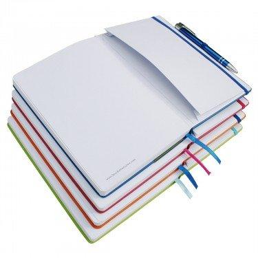 Notizbuch für Sport, Fitness und Ernährung, DIN A6 A6 fuchsia pink - 2