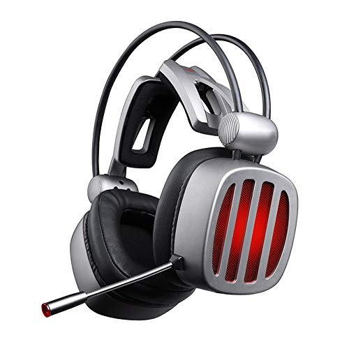 Rhd Head-Mounted Noise-Cancelling Gaming Headset, Headset Dedicated to Gaming, Wired Connection. Desktop Computer Notebook Universal