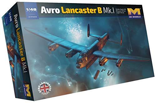 HKモデル 1/48 イギリス空軍 アブロ ランカスターB MK.I プラモデル 01F005