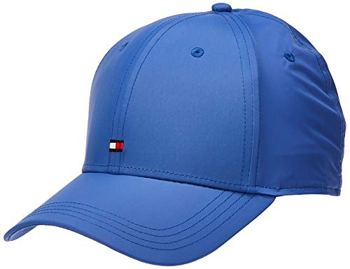 Tommy Hilfiger BB Cap Tailored-Recycled Nylon Gorra de béisbol, Azul, Talla única (Talla del Fabricante:) para Hombre