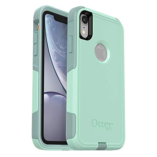 OtterBox COMMUTER SERIES Case for iPhone XR - Retail Packaging - OCEAN WAY (AQUA SAIL/AQUIFER)