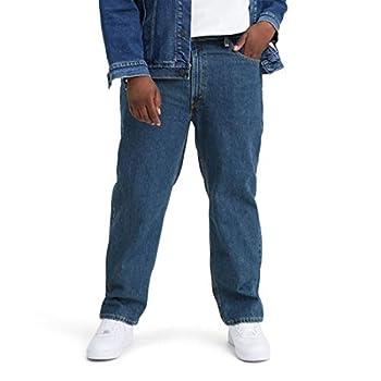 Levi s Men s Big and Tall 550 Relaxed Fit Jean Dark Stonewash 52W x 30L
