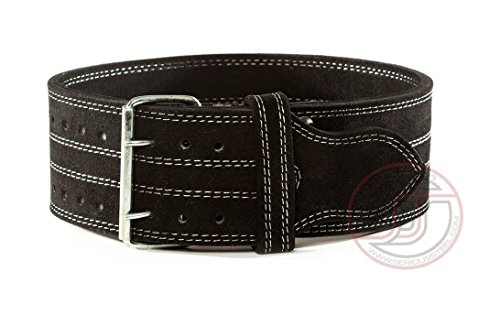 Serious Steel Fitness 10MM Double Prong Lifting Belt - Medium