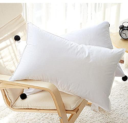 Almohada,Diseño ergonómico para un Mejor Soporte para Dormir en la Cabeza, el Cuello y los Hombros Almohada -50 * 80 cm