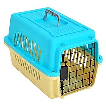 Chenils Cages Cage pour Animaux de Compagnie boîte à air pour Animaux de Compagnie Petit Chien Transport Cage air Transport Case à Cocher Teddy Portable sur la boîte Fournitures Cages