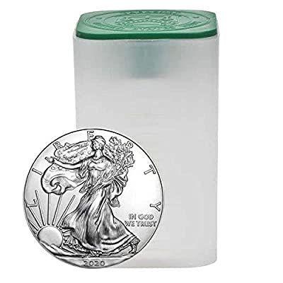 2020-10 Coin Set American Silver Eagle .999 Fine Silver Uncirculated