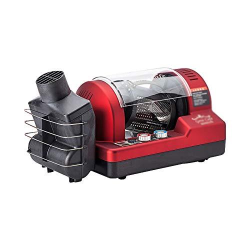 ChengBeautiful Máquina Tostadora De Granos De Café Máquina de asado 3D Air Café Café Máquina de Tostado Pequeña máquina de Frijol de asado (Color : Red, Size : 49x24.3x22.9cm)