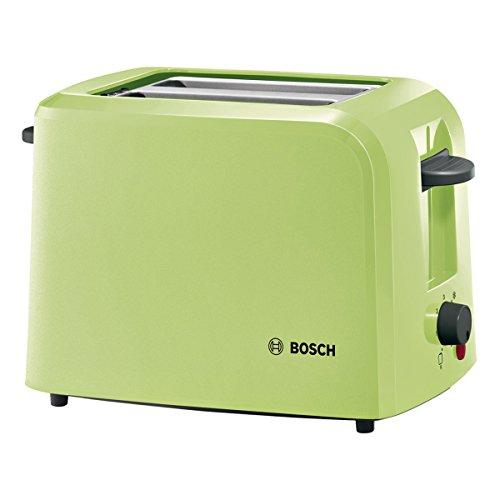 Bosch CompactClass Tostapane, Plastic, Verde Chiaro