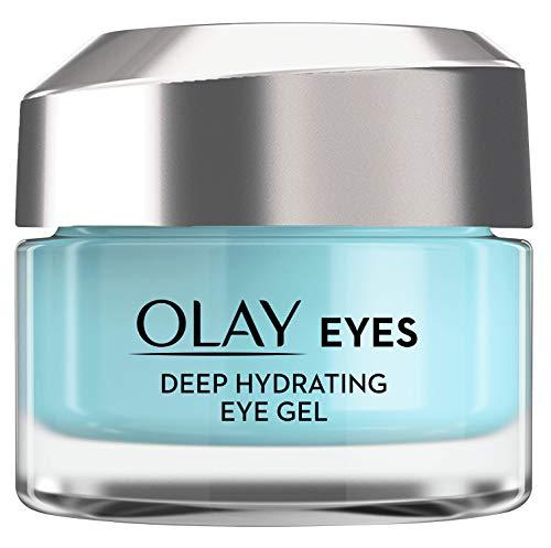 Olay Eyes Deep Hydrating Gel contorno de ojos, con ácido hialurónico para contorno de ojos seco y cansado, 15 ml