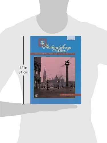 26 Italian Songs and Arias: Medium Low Voice
