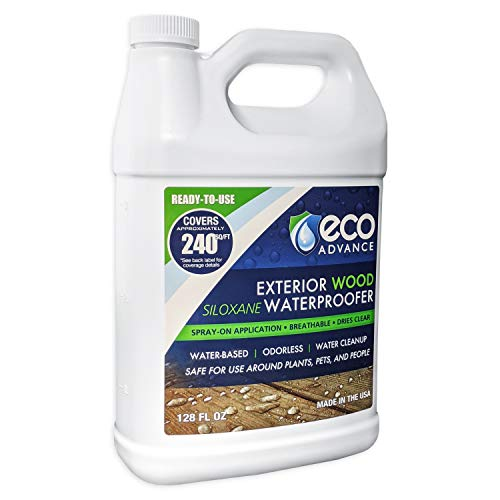 Eco Advance Wood Siloxane Waterproofer - 1 Gallon