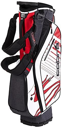 Cobra Golf 2020 Ultralight Stand Bag (Black-Red-White)