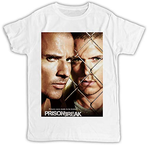 sihua Prison Break Poster Michael Scofield Lincoln Burrows Ideal Gift Cool T-Shirt