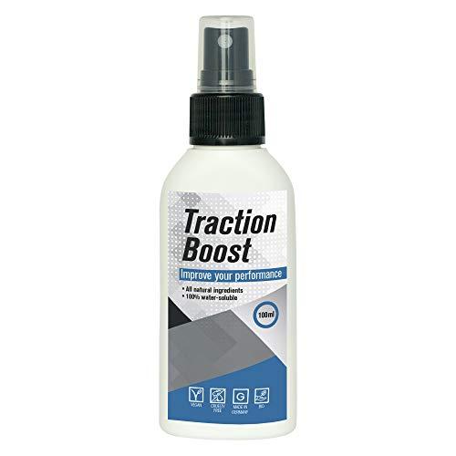 TractionBoost Chemiefreies Traktionsspray I 100ml Erhöht Traktion und Grip I einfach anzuwenden I kein Staub I Alternative zu herkömmlicher Flüssigkreide & trockener Kreide