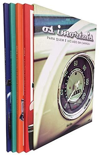 Box Os imortais: Para quem é viciado em carros - 4 Volumes