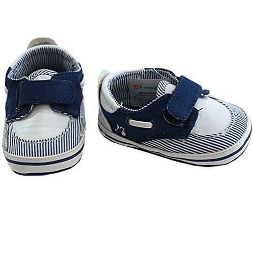 Mayoral Jungen Jeans-Babyschuhe, blau, Schuhgröße: 17