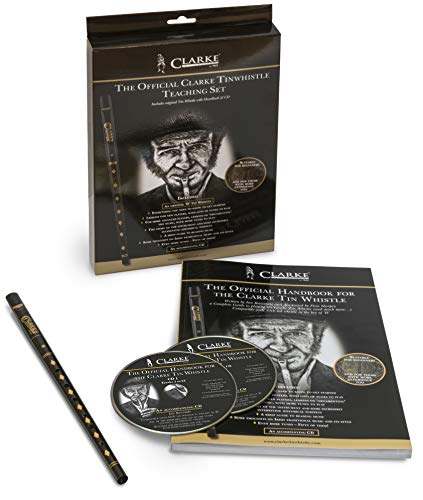 The Official Clarke Tinwhistle Teaching Set