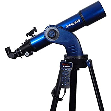 Meade Instruments 218002 StarNavigator NG 102MM Achromatic Refractor Telescope, Blue